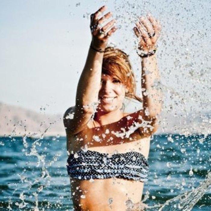 девушка вода