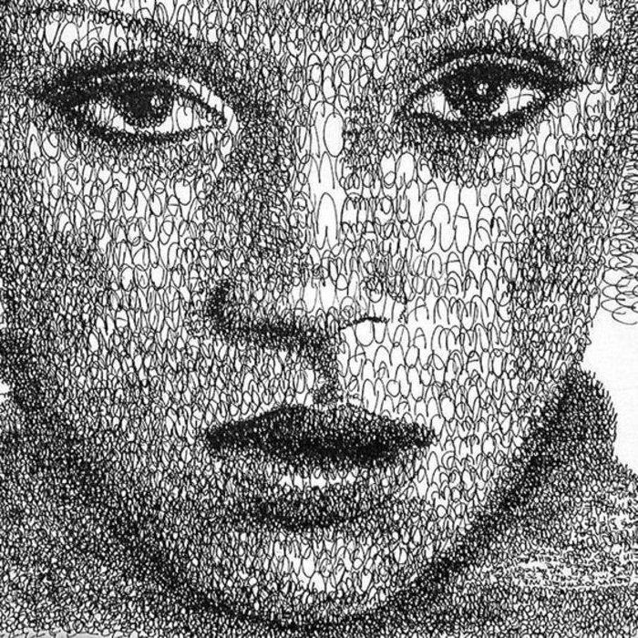 лицо женщины или