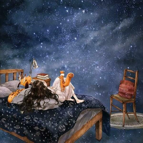 звезды над кроватью