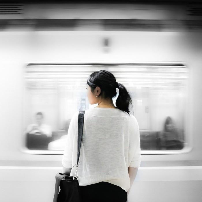 свидание в метро
