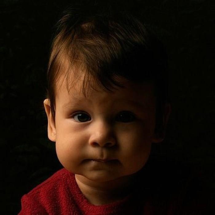 лицо мальчика