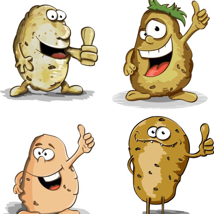 веселая картошка