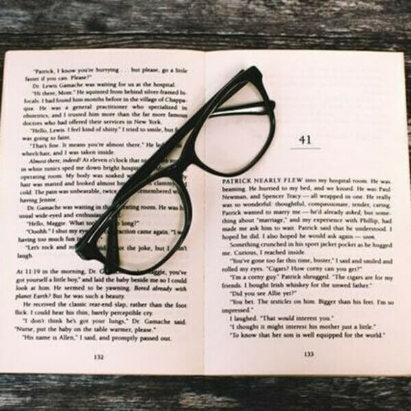 чтение и зрение