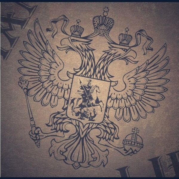 герб россии на светлом фоне
