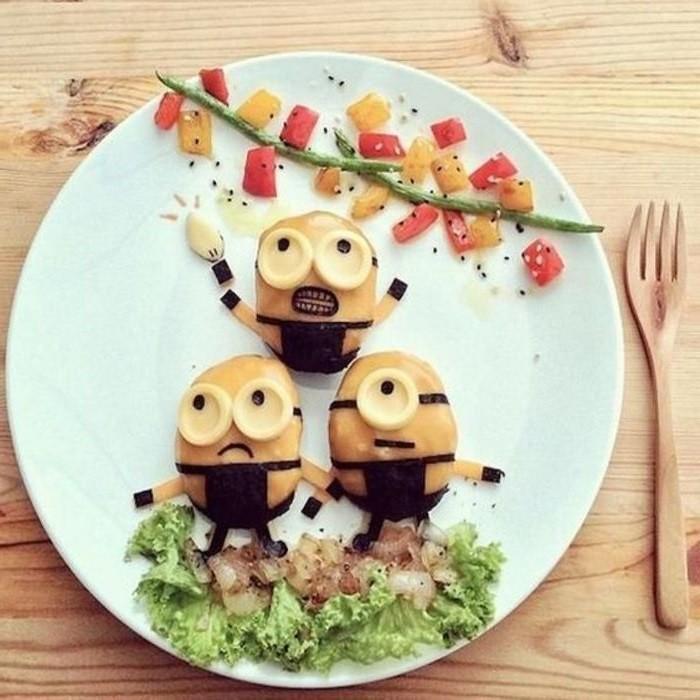 рисунок на тарелке для детей