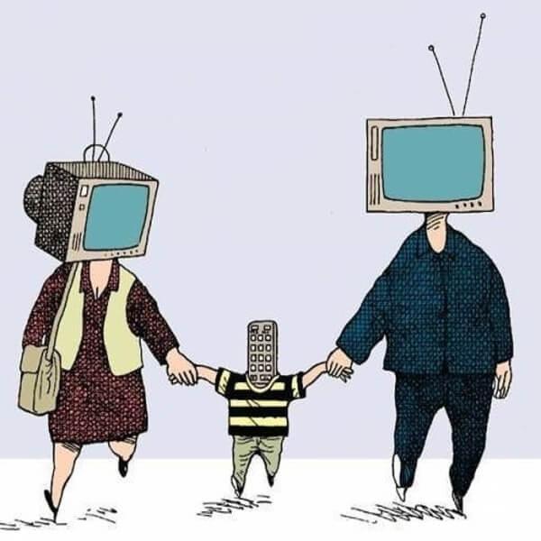 телевизионная семья