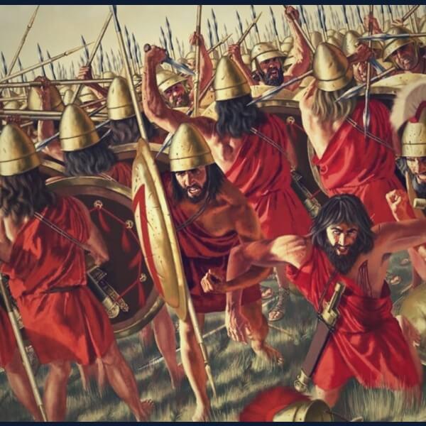 война в древней спарте