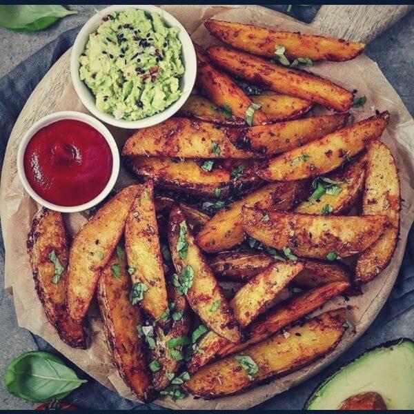 вегетарианство и картошка