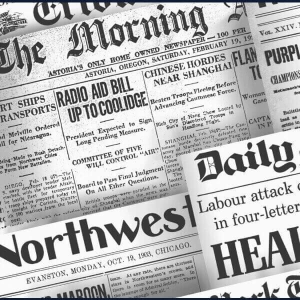 заголовки иностранных газет