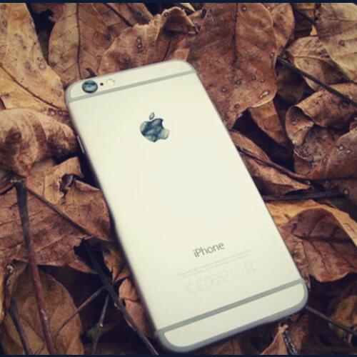 светлый айфон