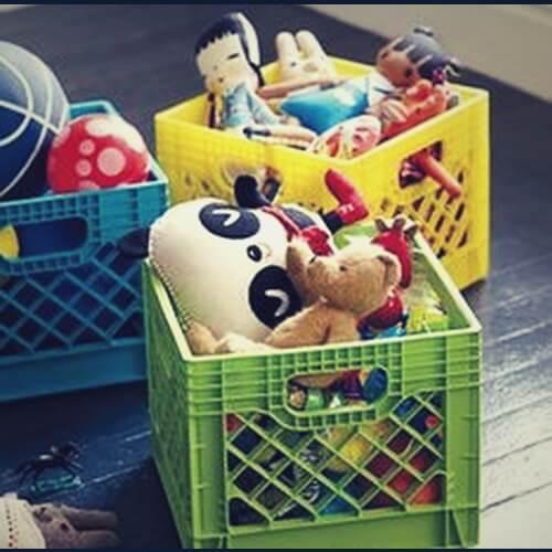 корзина игрушек
