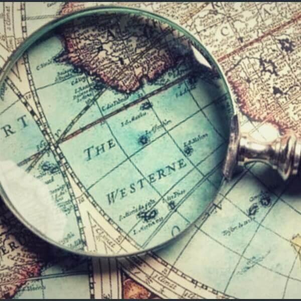 интересная география на карте