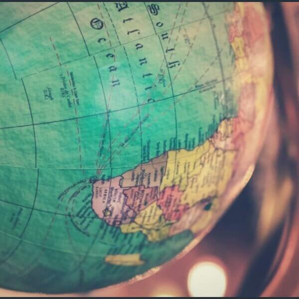 глобус географии