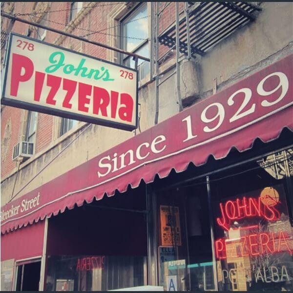 достопримечательность пиццерия