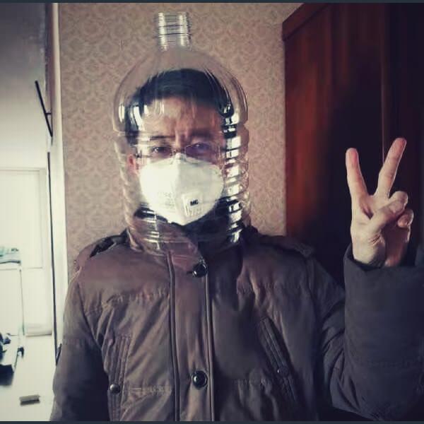 человек против коронавируса