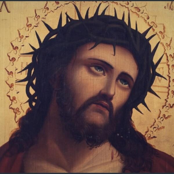 взгляд иисуса вверх