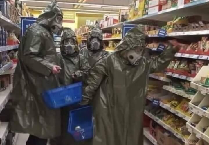 магазины во время коронавируса