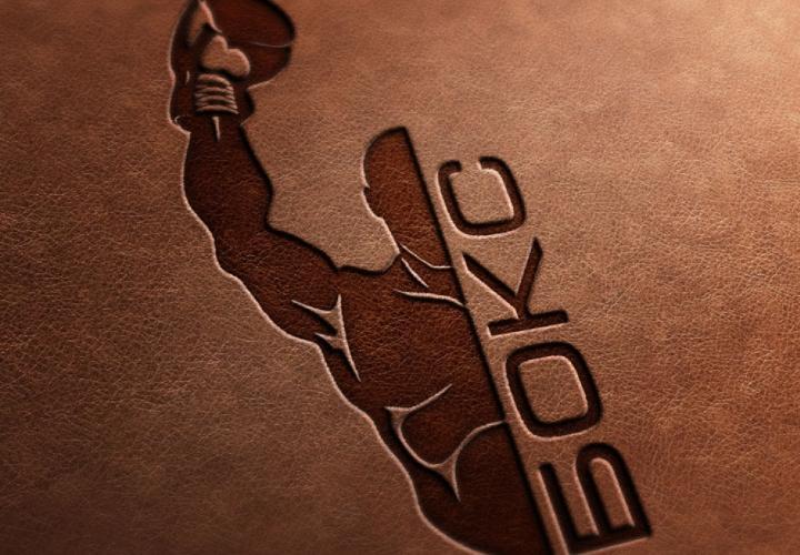печать боксера