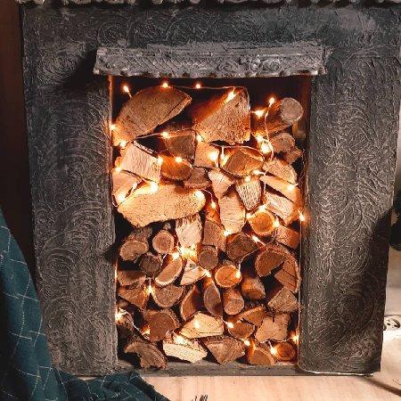 дрова в камине