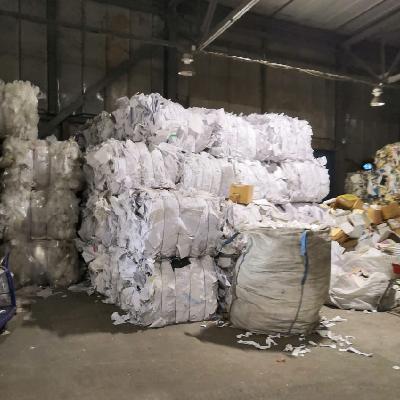 сортировка мусора пластик в брикетах