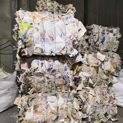 сортировка мусора бумага в брикетах